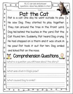 TAKE A CLOSER LOOK: CLOSE READING FOR FIRST GRADE - TeachersPayTeachers.com