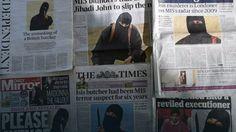 Postać Jihadi Johna znikła z pierwszych stron brytyjskich gazet