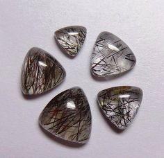 Shop for on Etsy, the place to express your creativity through the buying and selling of handmade and vintage goods. Rutilated Quartz, Natural, Creative, Handmade, Top, Stuff To Buy, Vintage, Beautiful, Black