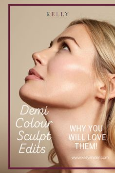 If you love the look of contour, but don't like heavy makeup, you'll love Demi Colour's sculpt edits. These contour shades look great on every skin tone! The Demi Sculpt Edit is a collection of shades that enhance your facial features by creating shadows, depth, and dimension. They are specifically designed to mimic the look of your bare skin while filtering out imperfections. Discover the easiest way to create a sculpted face without laying on too much makeup!
