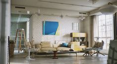 Living room  by Marwan Saliba, via Behance