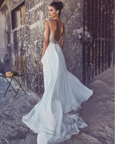 The Louise gown by Elizabeth Gillis, available at Olive Jones Bridal