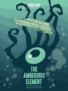 Cool Art: 'Star Trek: The Animated Series' E13 'The Ambergris Element' by Juan Ortiz