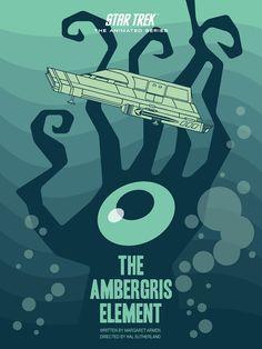 Cool Art: 'Star Trek: The Animated Series' E13 'The Ambergris Element' by Juan Ortiz