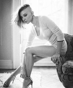 Punk Moriarty: Natalie Dormer for GQ magazine, April 2014.