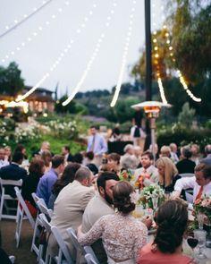 Al fresco #reception dining