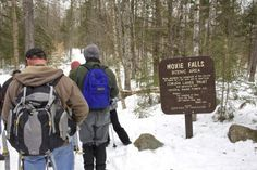 1-minute hike: Moxie Falls near The Forks   Act Out with Aislinn