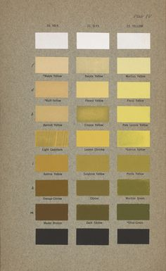 Robert Ridgway Color Standards and Color Nomenclature Washington, D.: Published by the author, 1912 (courtesy Smithsonian Libraries)