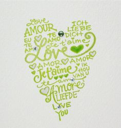 I Love You card for Valentine, anniversary, wedding ... bride to groom...