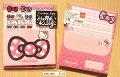 Sanrio Hello Kitty letter set pink - From Severine