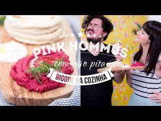 PÃO PITA COM PINK HOMMUS feat. O BIGODE NA COZINHA | VEDA 18 Dani Noce #CEDA - YouTube