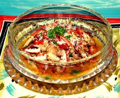 Sauteed Gulf Coast Blue Crab Claws: a delicious appetizer, and standard fare all along the Gulf Coast. Substitute Creole seasoning (about 1 1/2 Tbsp. or to taste) for the dried red pepper, sun-dried tomatoes, basil, and thyme for a spicier kick.