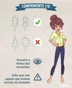 As calças jeans são uma espécie de varinha mágica que é sempre a resposta fácil para a pergunta: o que vou vestir hoje?  Vê aqui as perfeitas para o teu perfil.