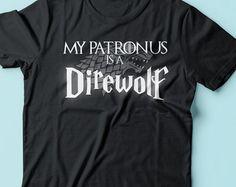 Harry Potter Game Of Thrones My Patronus is a by CrazyPugPrints