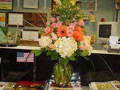 Beautiful fall vase arrangement