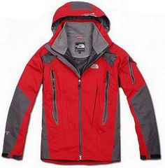 Authentic North Face Triclimate Jacket Clearance Men Red T036