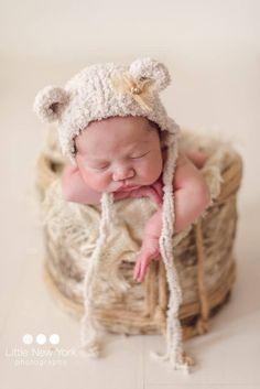 Items similar to Newborn fluffy bear bonnet hat, newborn photo prop, newborn props, baby gender neutral animal hat prop, newborn cap with ears teddy bear on Etsy Newborn Beanie, Bonnet Hat, Animal Hats, Baby Gender, Newborn Photo Props, Newborn Pictures, Gender Neutral, Beanies, Hand Knitting