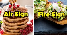 Plan Out Your Meals For The Day And We'll Guess Your Zodiac Sign What's For Breakfast, Breakfast Pancakes, Orange Juice Smoothie, Steak Pizza, Leftover Pizza, Yogurt And Granola, Bacon Avocado, Midnight Snacks, Seafood Pasta