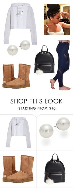 """""""Another day out"""" by jam-vibes on Polyvore featuring NIKE, lululemon, AK Anne Klein, UGG Australia and BP."""