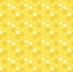 Golden Honeycomb fabric by pattysloniger on Spoonflower - custom fabric - crazy bright