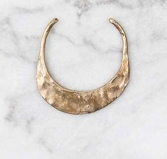 WWAKE Choker #Necklaces are Charming Metal Rings Molded by Hand trendhunter.com
