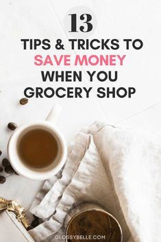 Food is one of the most basic essentials in our daily lives but that doesn't mean we need to spend a ton of money to feed ourselves right. Here are 13 easy and simple ways to save money on groceries, lower your food cost each month, and feed yourself happily and healthily even if you're on a tight budget. | budgeting | cashback | shopping apps | couponing | frugal | saving money | reduce expenses | frugality | grocery shopping