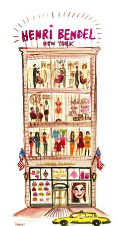 illustration | henri bendel