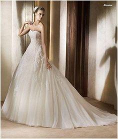 Robe de mariée d'occasion Pronovias taille 52