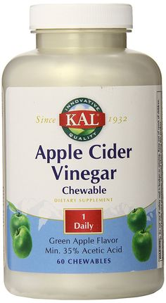 KAL Chewable Tablets, Apple Cider Vinegar, 500 mg, 60 Count Natural Cold Remedies, Cold Home Remedies, Cough Remedies, Herbal Remedies, Best Apple Cider Vinegar, Coconut Oil Weight Loss, Plus 4, Natural Medicine, Herbalism
