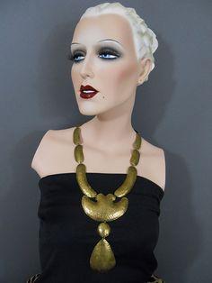 Vintage Gemini Mannequin | by Vintiechick Vintage Mannequin, Dress Form Mannequin, Mannequin Heads, Store Mannequins, Or Noir, Displays, Hat Stands, Half Dolls, Dressmaking
