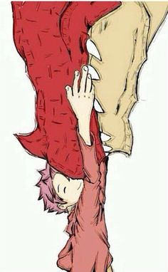 Igneel and Natsu from Fairy Tail. I made a mistake before :P so cute I want this to be real I want fairy tail to be real and I would go there like a lot Fairy Tail Love, Fairy Tail Ships, Fairy Tail Dragon, Anime Fairy Tail, Image Fairy Tail, Fairy Tail Art, Fairy Tail Guild, Fairy Tales, Fairy Tail Cosplay