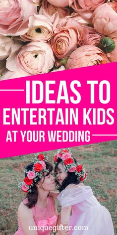 Ideas to Entertain Kids at Your Wedding wedding games Wedding Activities, Fun Activities For Kids, Activity Ideas, Kids Table Wedding, Wedding With Kids, Wedding Tips, Wedding Fun, Wedding Unique, Wedding Trends