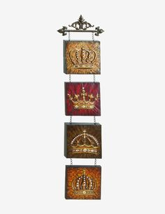 Metal Crown Wall Decor crown wall decor | ~ queen of everything ~ | pinterest | wall
