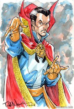 Awesome Art Picks: Blue Beetle, Nick Fury, Doctor Strange, and More - Comic Vine