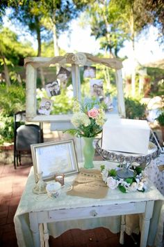 Beautiful Shabby Chic Details with Vintage Charm
