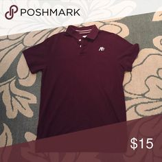 Aero polo In great shape. It's a dark burgandy Aeropostale Shirts Polos