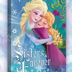 I love this!! But instead of the sisters quote, Id draw Elsas ice castle!! (I dont have a sister. :(