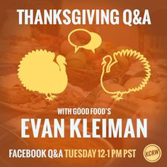 Read through our Q & A with Evan Kleinman. Maybe your question's got answered before you even had to ask. https://www.facebook.com/50315286760/photos/a.104717056760.98108.50315286760/10152397629426761