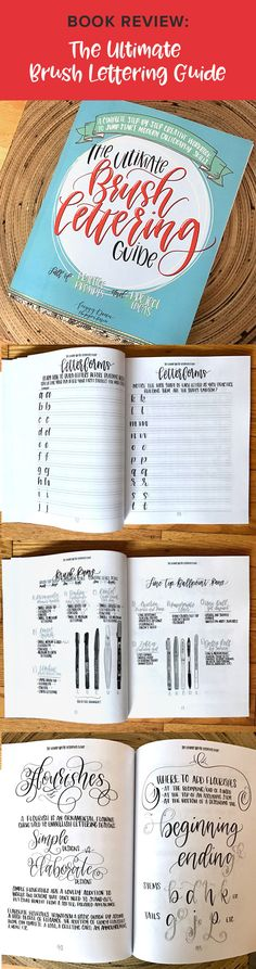 I highly recommend this book to anyone who wants to start learning brush lettering, as well as those who have been practicing for a while. This book teaches you brush lettering step-by-step, as well as which tools to use, how to add flourishes and illustrations to your lettering. The whole book was hand lettered by Peggy, isn't that cool? Click here to read my full review of this book