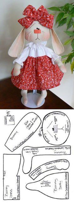 Amazing Home Sewing Crafts Ideas. Incredible Home Sewing Crafts Ideas. Christmas Sewing Patterns, Animal Sewing Patterns, Doll Dress Patterns, Stuffed Animal Patterns, Felt Doll Patterns, Sock Dolls, Felt Dolls, Crochet Dolls, Rag Dolls