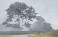 "Judith Vivell, ""Maidstone - East Hampton,"" oil on canvas, 39 x 60"