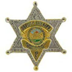 "Douglas Nevada Deputy Sheriff Badge pin 1"" by FindingKing. $9.50. This is a new Douglas Nevada Deputy Sheriff Badge pin 1"""