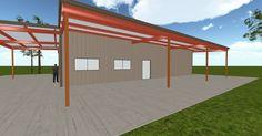 Cool 3D #marketing http://ift.tt/2iWwnCO #barn #workshop #greenhouse #garage #roofing #DIY