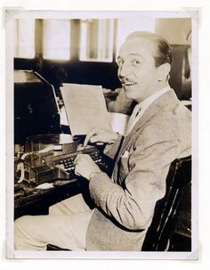 Walt at the Keyboard. Photo by Mark Sonntag on July 28, 1933. Walt Disney was in New York around that time—Film Daily interviewed him on July 24 at United Artists' offices, where he was trying to persuade a skeptical UA to support his idea for a feature-length cartoon.