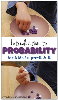 fun way to introduce your kids to the concept of probability Learning math can be easy and fun with hands-on learning opportunities. This activity is a fun way to introduce young kids to the concept of probability. Math Activities For Kids, Preschool Science, Math For Kids, Fun Math, Steam Activities, Math Art, Classroom Activities, Elementary Math, Kindergarten Math