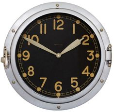 Looking for something cool to put on your wall or to give as a gift? Airship military Wall clocks come in all kinds of shapes and sizes these days, some of which are wonderfully unique. Nearly every house or office has a clock on the wall,
