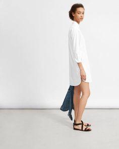 dd44c8d4193 The Cotton Shirtdress - Everlane Cotton Shirt Dress