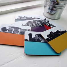 Wales Coasters from notonthehighstreet.com