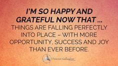 Yes!! #grateful #opportunity #success #joy #affirmations #believe #BobProctor #SandyGallagher #aromafreedomtechnique