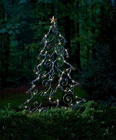 Loving this Solar LED Christmas Tree Garden Stake on #zulily! #zulilyfinds